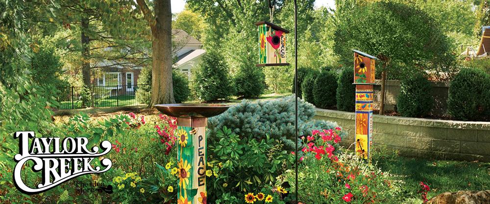 Bird Baths/Houses